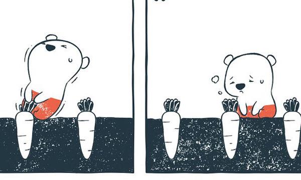 Αυτά τα σκίτσα είναι αστεία, τρυφερά και έχουν πολλά κρυφά μηνύματα (pics)