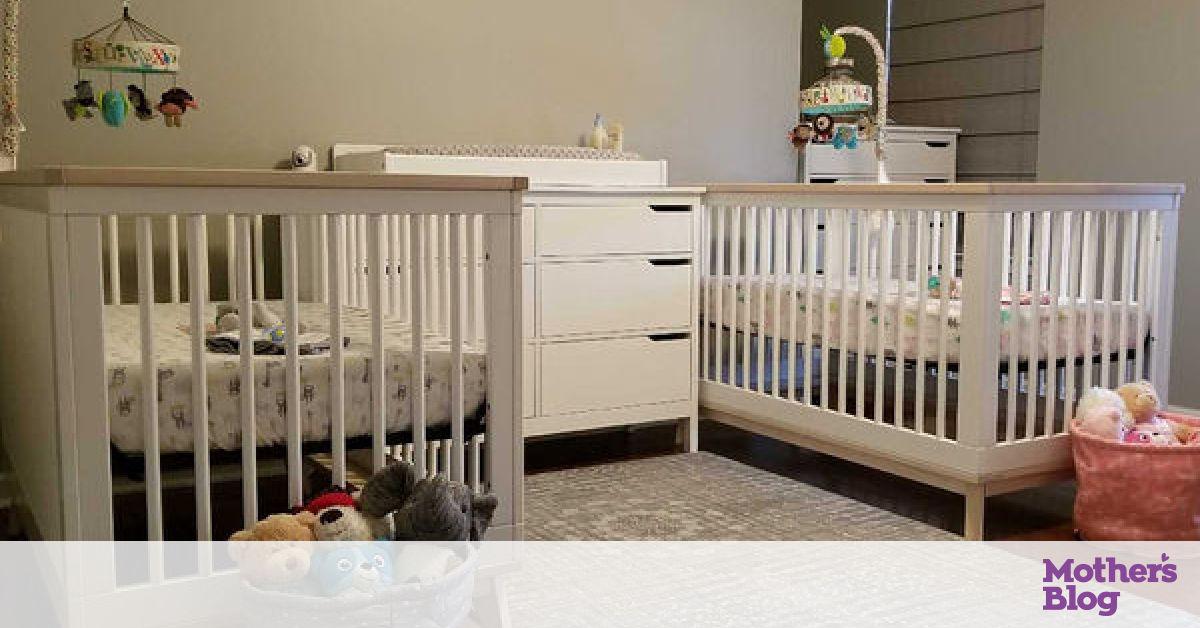 20f1e4729f0 Βρεφικό δωμάτιο για δίδυμα: Πρακτικές ιδέες που θα σας βολέψουν -  Mothersblog.gr