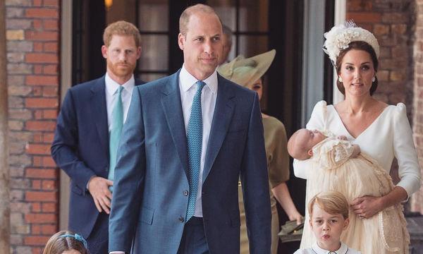 Πρίγκιπας Louis: Φόρεσε τα ίδια βαφτιστικά με τα αδέλφια του (pics)