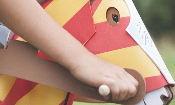 Άλογο-καλάμι ιππότη - Το παιχνίδι που θα εξάψει τη φαντασία των παιδιών