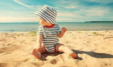 Πώς θα προστατεύσετε το μωρό τις μέρες που έχει ζέστη