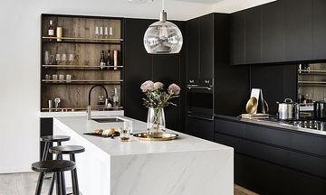 Ιδέες για μαύρη κουζίνα! Η τολμηρή επιλογή που θα λατρέψετε