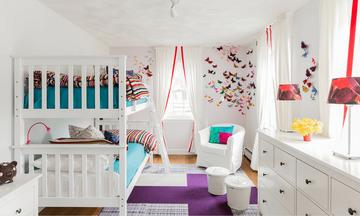 Δεκατρείς ιδέες για παιδικό δωμάτιο που το μοιράζονται δύο παιδιά (pics)