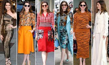 Δείτε πόσα outfit άλλαξαν αυτές οι διάσημες μέσα σε μια μόλις μέρα (pics)