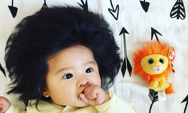 Είναι μόλις έξι μηνών και τα μαλλιά της είναι απίστευτα ( pics)