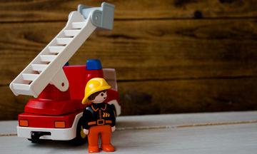 Κρατήστε τα παιδιά ασφαλή από τη φωτιά