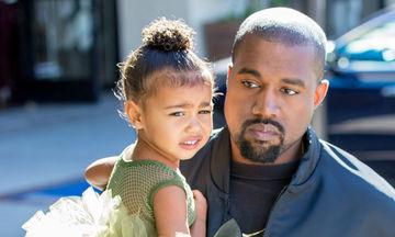 Ο Kanye West αναρρώνει με ένα μεγάλο φιλί της κόρης του!