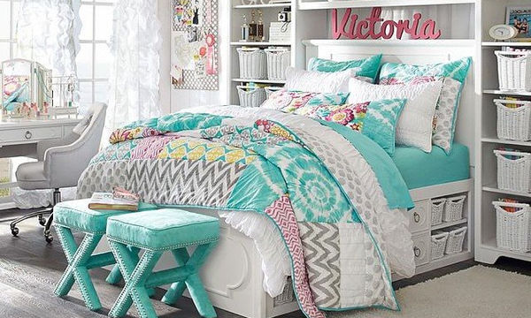 Διακόσμηση νεανικού δωματίου για κορίτσια - 20 όμορφες ιδέες
