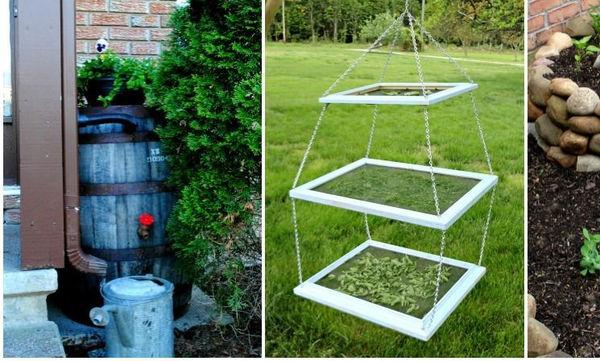 DIY: Ιδέες για να αναβαθμίσεις την διαμόρφωση του κήπου σου (vid)