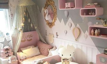 12 ιδέες κοριτσίστικου δωματίου για να κάνετε την μικρή σας να νιώθει σαν πριγκίπισσα (pics)