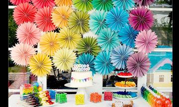 Πως να φτιάξεις μια ξεχωριστή διακόσμηση μόνη σου για το παιδικό πάρτι γενεθλίων (vid)