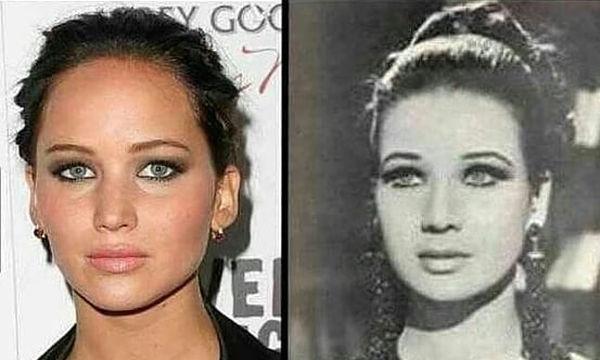 Φωτογραφίες διασήμων που μοιάζουν υπερβολικά με πρόσωπα του παρελθόντος (pics)
