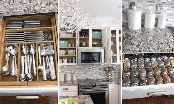 Δείτε πως μπορείτε απλά και εύκολα να οργανώσετε καλύτερα την κουζίνα σας (vid)