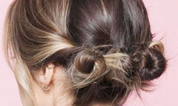 Macaron buns: Το hair trend που αγαπούν οι Γαλλίδες