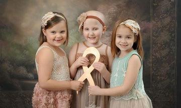 Αυτά τα κοριτσάκια ξεπέρασαν τον καρκίνο και φωτογραφίζονται μαζί πιο δυνατές από ποτέ (pics)