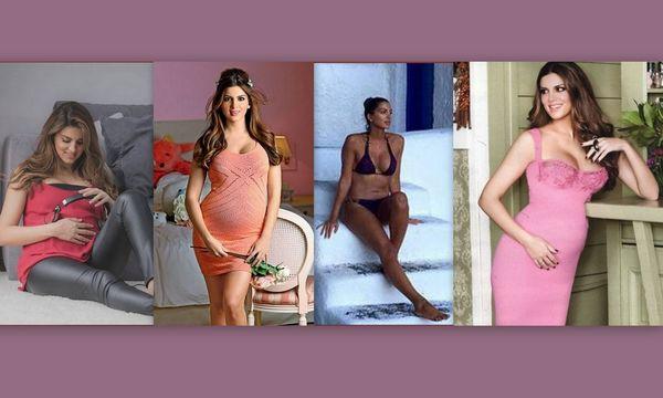 Τσιμτσιλή: Οι τρεις εγκυμοσύνες και πώς κατάφερε να χάσει γρήγορα τα κιλά κάθε γέννας (pic & vid)