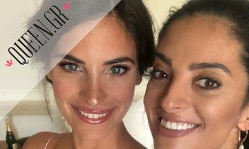 Μάθαμε τα πάντα για το wedding look της Χριστίνας Μπόμπα από την makeup artist Αδαμαντία Κατσάμπη