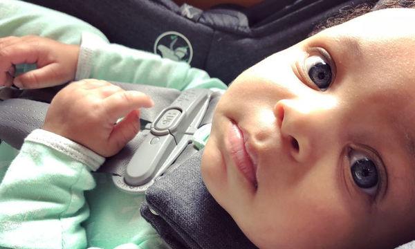 Ο γιος της έγινε τεσσάρων μηνών - Δείτε τι του ευχήθηκε η διάσημη μαμά του (pics)