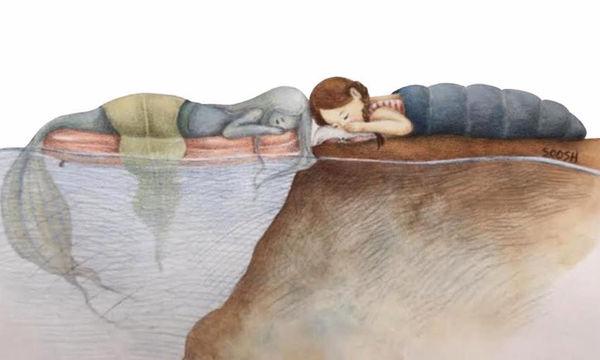 Τα πιο τρυφερά σκίτσα όπου ο φανταστικός και ο πραγματικός κόσμος συναντιούνται (pics)