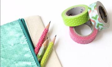 8efc6d7392 Back to school DIY  Ιδέες για τις πιο δημιουργικές χειροτεχνίες με σχολικά  είδη (vid