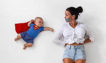 Aυτή η μαμά βγάζει τις πιο πετυχημένες φωτογραφίες με τα μικρά της (pics)