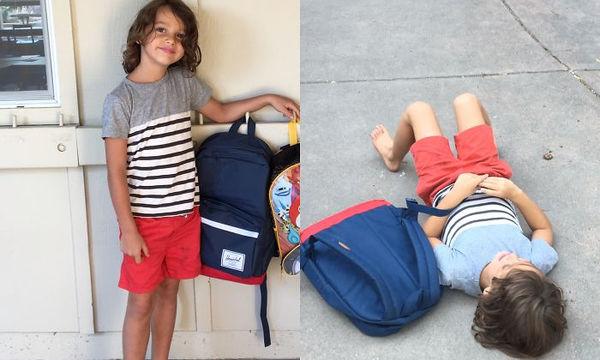 Παιδιά πριν και μετά την πρώτη μέρα στο σχολείο μέσα από αστείες φωτογραφίες (pics)