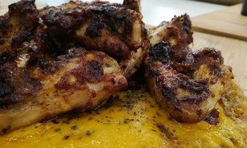 Φτερούγες κοτόπουλου με BBQ sauce