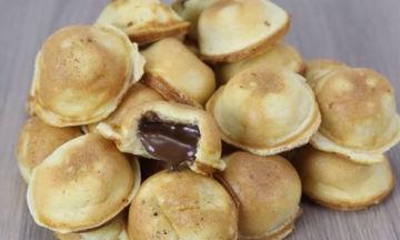 Γεμιστά puncakes με σοκολάτα - Νόστιμα και λαχταριστά (vid)