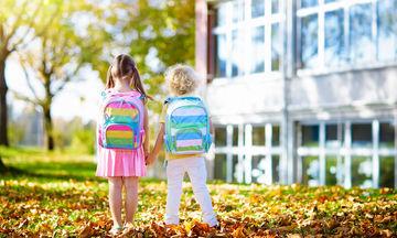 Πρώτη μέρα στο σχολείο: Πώς μπορείτε να βοηθήσετε το παιδί σας να προσαρμοστεί