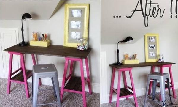 Φτιάξτε μόνοι σας το γραφείο του παιδιού σας (pics+vid)