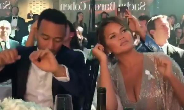 O χορός της Chrissy Teigen και του John Legend που έγινε viral