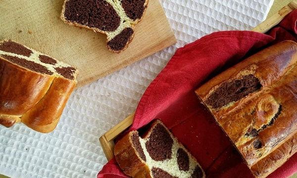 Ναι, αυτή είναι η συνταγή για να φτιάξετε Leopard bread