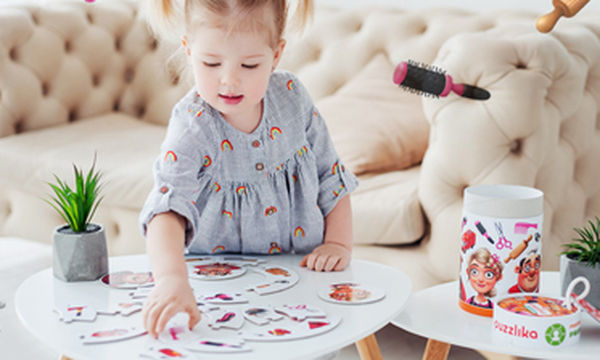Πρωτότυπο παζλ «Mπαλαρίνες» για κορίτσια από 3 ετών