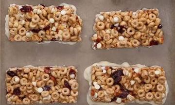 Μπάρες δημητριακών και άλλα 4 σνακ για μετά το σχολείο που μπορείς να φτιάξεις εύκολα