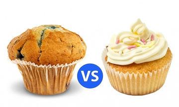 Εσείς γνωρίζετε τη διαφορά μεταξύ muffins και cupcakes;