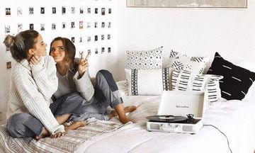 Υπέροχες, μοντέρνες και cool ιδέες διακόσμησης εφηβικού δωματίου για κορίτσια Λυκείου (pics)