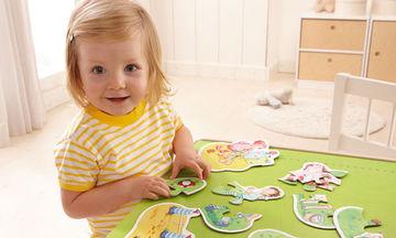 Παιχνίδια για παιδιά 3 ετών: Παζλ που ενισχύουν τη λεπτή κινητικότητα του παιδιού