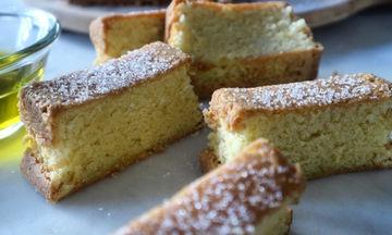 Κέικ Λαδιού - Ιδανικό για κολατσιό στο σχολείο
