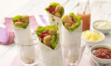 Είσαι φοιτητής; Φτιάξε τα τέλεια fish finger burritos!