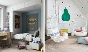 Είκοσι ιδέες για να κάνετε το παιδικό δωμάτιο φωτεινό και πολύχρωμο (pics)