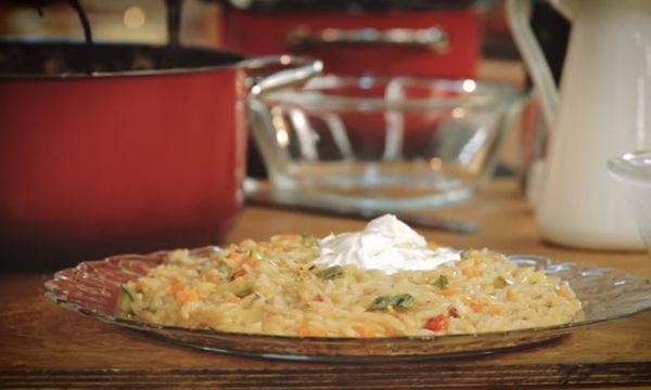 Κριθαρότο με λαχανικά - Μια νόστιμη συνταγή για να φάνε λαχανικά τα παιδιά σας