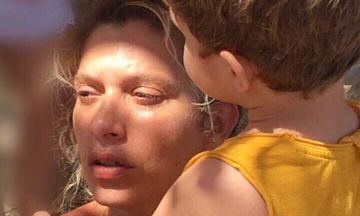 Σύλβια Δεληκούρα: Δείτε πόσο μεγάλωσε ο γιος της (pics)