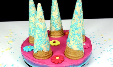 Το καλύτερο κέρασμα για τα γενέθλια του παιδιού σας - Cheesecake μονόκερος (vid)