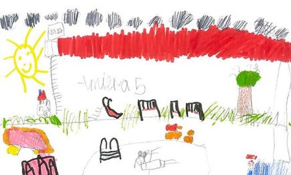 Σε τι κήπο θα ήθελαν να παίζουν τα παιδιά; Απαντούν με τις ζωγραφιές τους (pics)