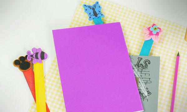 DIY σελιδοδείκτες με 2 υλικά (vid)