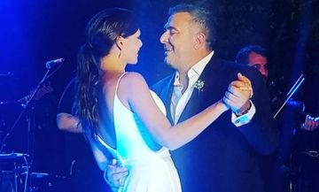 Ρέμος- Μπόσνιακ: Μετά τον γάμο, στη Σύμη για το τάμα