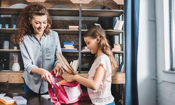 5 tips για να βοηθήσετε το παιδί σας να οργανώνεται καλύτερα για το σχολείο