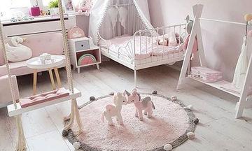 Είκοσι ξεχωριστές ιδέες διακόσμησης για το βρεφικό δωμάτιο (pics)