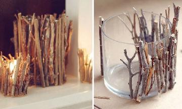11 υπέροχες ιδέες για να διακοσμήσετε όμορφα τα κεριά σας (vid)