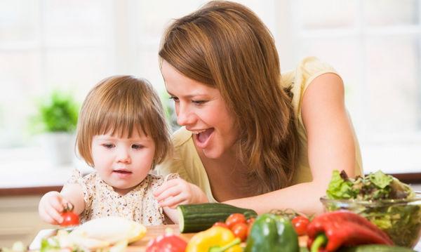 Πώς θα αγαπήσουν τα μικρά μας τα λαχανικά;